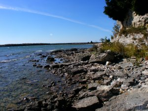Rock Island, near the tip of Door County